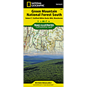748 Green Mountain National Forest: White Rocks NRA - Manchester Trails Map