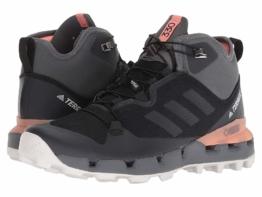 adidas Outdoor Terrex Fast Mid GTX(r) Surround (Black/Grey Five/Chalk Coral) Women's Hiking Boots