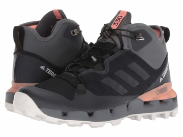 adidas Outdoor Terrex Fast Mid GTX(r) Surround (Black/Grey Five/Chalk  Coral) Women's Hiking Boots