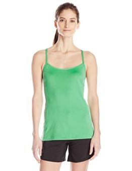 adidas Outdoor Women's Climb The City Tank Top, Green Glow, Medium - 1