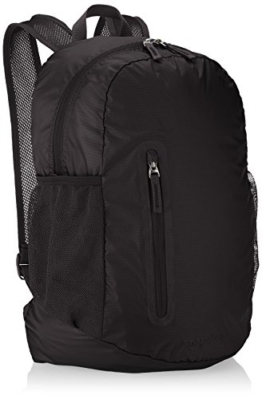AmazonBasics Ultralight Packable Day Pack - Black, 25L - 1