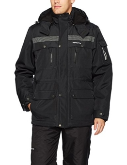 Arctix Men's Performance Tundra Jacket with Added Visibility, X-Large, Black - 1