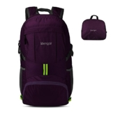 Backpack Daypack,Travel Backpack, Mengar 35L Foldable Water Resistant Packable Backpack Hiking Daypack - Ultralight and Handy & Lifetime Warranty (Purple) - 1