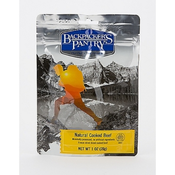 Backpacker's Pantry Freeze Dried Cooked Beef