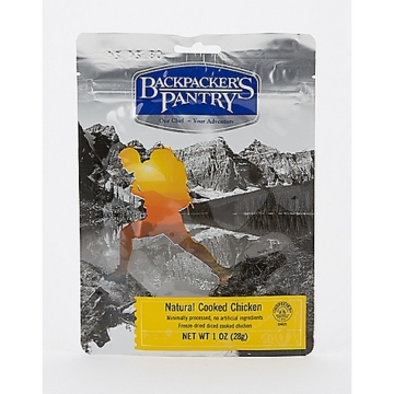 Backpacker's Pantry Freeze Dried Cooked Chicken