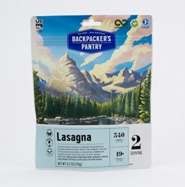Backpacker's Pantry Lasagna, Two Serving Pouch, (Packaging May Vary)​ - 1