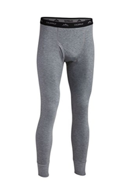 ColdPruf Men's Platinum II Performance Base Layer Pant, Heather Grey, Medium - 1