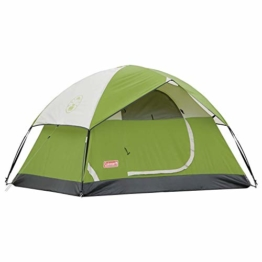 Coleman  2-Person Sundome Tent, Green - 1