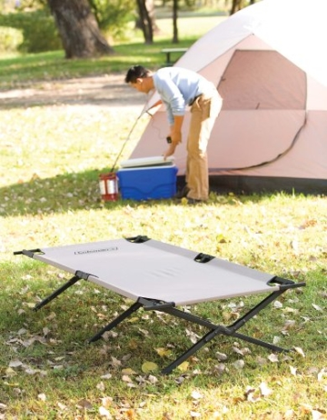 Coleman 765353 Trailhead II Military Style Camping Cot - 2