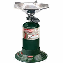 "Coleman Bottle Top Propane Stove,Green,6.62"" H x 7.81"" W x 7.75"" L - 1"
