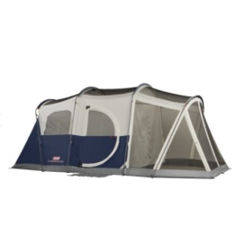 Coleman Elite WeatherMaster 6 Screened Tent,Multi Colored,6L x 9W ft. (Screened Area) - 1