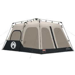 Coleman Instant 8 Person Tent, Black, 14x10-Feet - 1