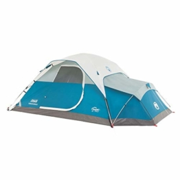 Coleman Juniper Lake Instant Dome Tent with Annex, 4-Person - 1