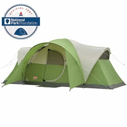 Coleman Montana 8-Person Tent, Green - 1