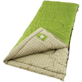 COLEMAN RECTANGULAR FLANNEL SLEEPING BAG