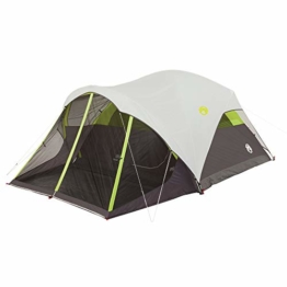 Coleman Steel Creek Fast Pitch Dome Tent with Screen Room, 6-Person - 1