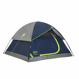 Coleman Sundome 4-Person Tent, Navy - 1