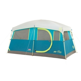Coleman Tenaya Lake Fast Pitch Cabin Tent with Cabinets, 6-Person - 1