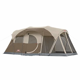 Coleman WeatherMaster 6-Person Tent with Screen Room - 1