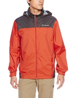 Columbia Men's Glennaker Lake Rain Jacket, Super Sonic/Shark, X-Large - 1