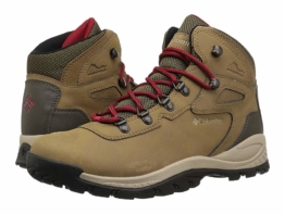 Columbia Newton Ridge Plus (Delta/Red Velvet) Women's Hiking Boots