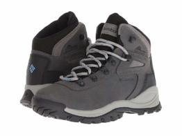 Columbia Newton Ridge Plus (Quarry/Cool Wave) Women's Hiking Boots