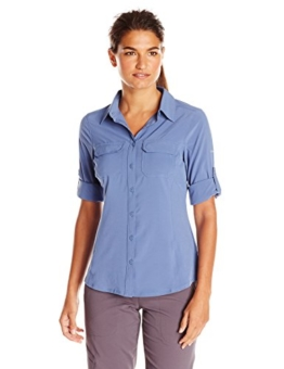 Columbia Sportswear Women's Saturday Trail III Long Sleeve Shirt, Bluebell, X-Large - 1