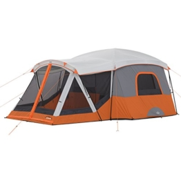 CORE 11 Person Cabin Tent with Screen Room - 17' x 12' - 1