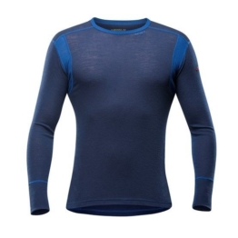 DEVOLD HIKING Man Shirt  mistral -  Man Shirt made by 100 % Merino wool