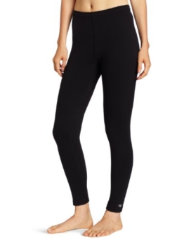 Duofold Women's Heavy Weight Double Layer Thermal Leggings, Black, Medium - 1