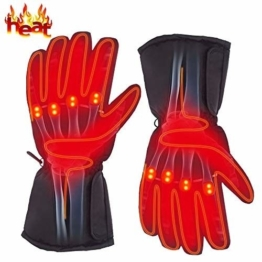 Electric Heated Gloves Thermal Rechargeable Outdoor Climbing Hiking Cycling