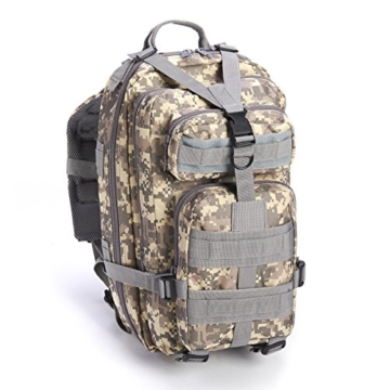 Equipped Outdoors Military Tactical Travel Hiking Backpack, Camo - 1