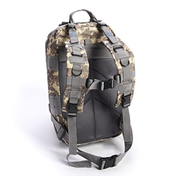 Equipped Outdoors Military Tactical Travel Hiking Backpack, Camo - 2