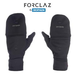 FORCLAZ TREK 500 Winter Fingerless Gloves For Mountain Hike Windproof Tactile