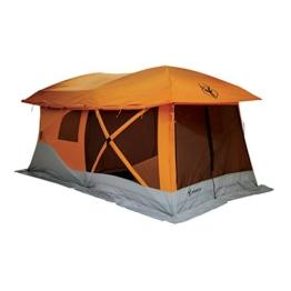 Gazelle 26800 T4-Plus Pop-Up Portable Camping Hub Tent, Orange, 4-8 Person - 1