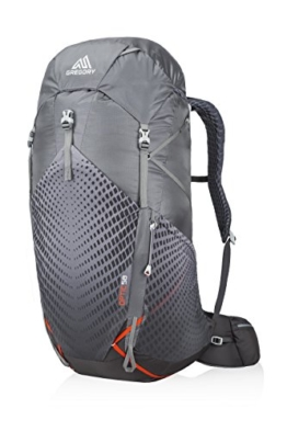 Gregory Mountain Products Men's Optic 58 Liter Backpack, Lava Grey, Large - 1