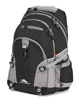 High Sierra Loop Backpack, Black/Charcoal - 1