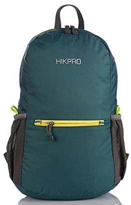HIKPRO 20L - The Most Durable Lightweight Packable Backpack, Water Resistant Travel Hiking Daypack For Men & Women - 1