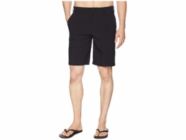Hurley Phantom Hybrid Walkshorts (Black) Men's Shorts