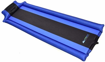 IFORREST Sleeping Pad with Armrest & Pillow – Never let Your Arms & Feet Feel The Ground - Comfortable Self-Inflating Air Mattress for Camping, Hiking, Traveling and Backpacking! - 6