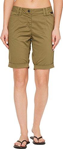 Jack Wolfskin Women's Liberty Shorts, Burnt Olive, Size 42 (US 14) - 1
