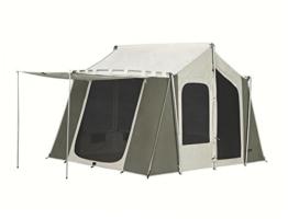 Kodiak Canvas 12x9 Canvas Cabin Tent, Tan, One Size - 1