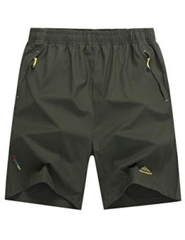 LOHASCASA Men's Walking Shorts (Army Green,US XX-Large) - 1