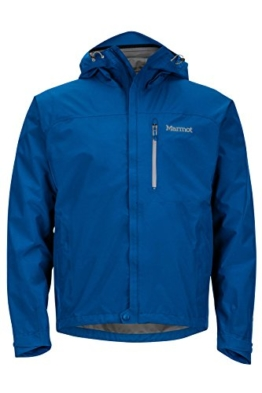 Marmot Minimalist Men's Lightweight Waterproof Rain Jacket, GORE-TEX with PACLITE Technology, Large, Blue Sapphire - 1