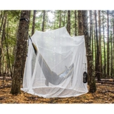 MEKKAPRO Ultra Large Mosquito Net and Insect Repellent by Large Two Openings Netting Curtains | Prevent Malaria Zika West Nile Viruses | Camping, Bedding, Patio | Carrying Pouch and Hanging Kit - 1