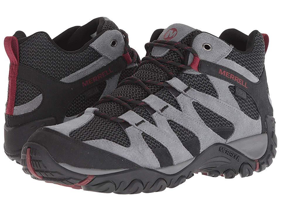 b4a70eb304 Merrell Alverstone Mid Waterproof (Castlerock) Men's Shoes