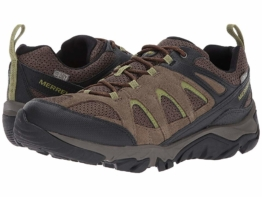 Merrell Outmost Vent Waterproof (Boulder) Men's Shoes