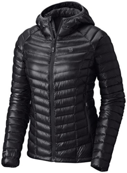 Mountain Hardwear Ghost Whisperer Down Hooded Jacket - Women's, Black 099, Small - 1