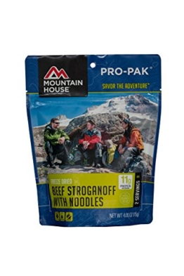 Mountain House Beef Stroganoff with Noodles Pro-Pak - 1