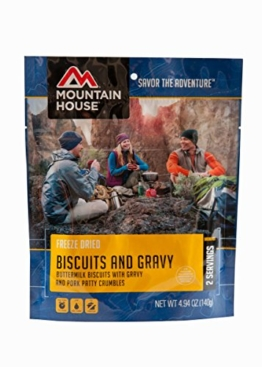 Mountain House Biscuits and Gravy, 4.94 oz, Pouch - 1